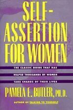 Self-Assertion for Women by Pamela E. Butler (1992, Paperback, Reprint)