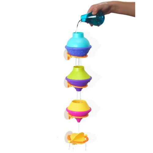Fat Brain Toys DripDrip Bath Toy Drip Drip Bathtub Water Fun