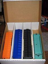 Toy Train Storage Box - 4 Pack - 027 Passenger Cars + NEW LOWER PRICE