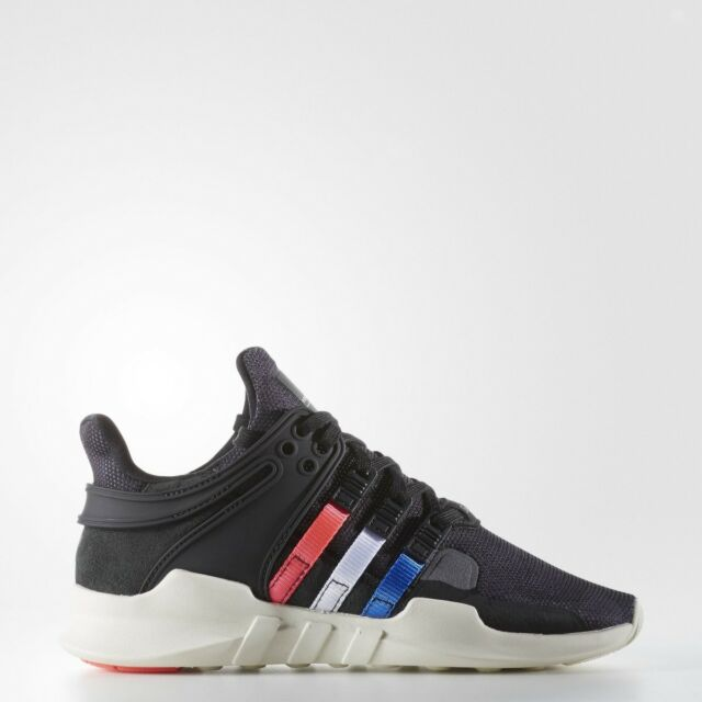 adidas EQT Support ADV Juniours Trainer Running Shoe Size 4.5 - 6 Black RRP  £80 d64edcb30