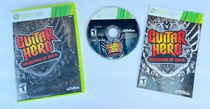 Guitar-Hero-Warriors-of-Rock-Xbox-360-Complete-w-Manual-Tested-Clean-Disk-VGC