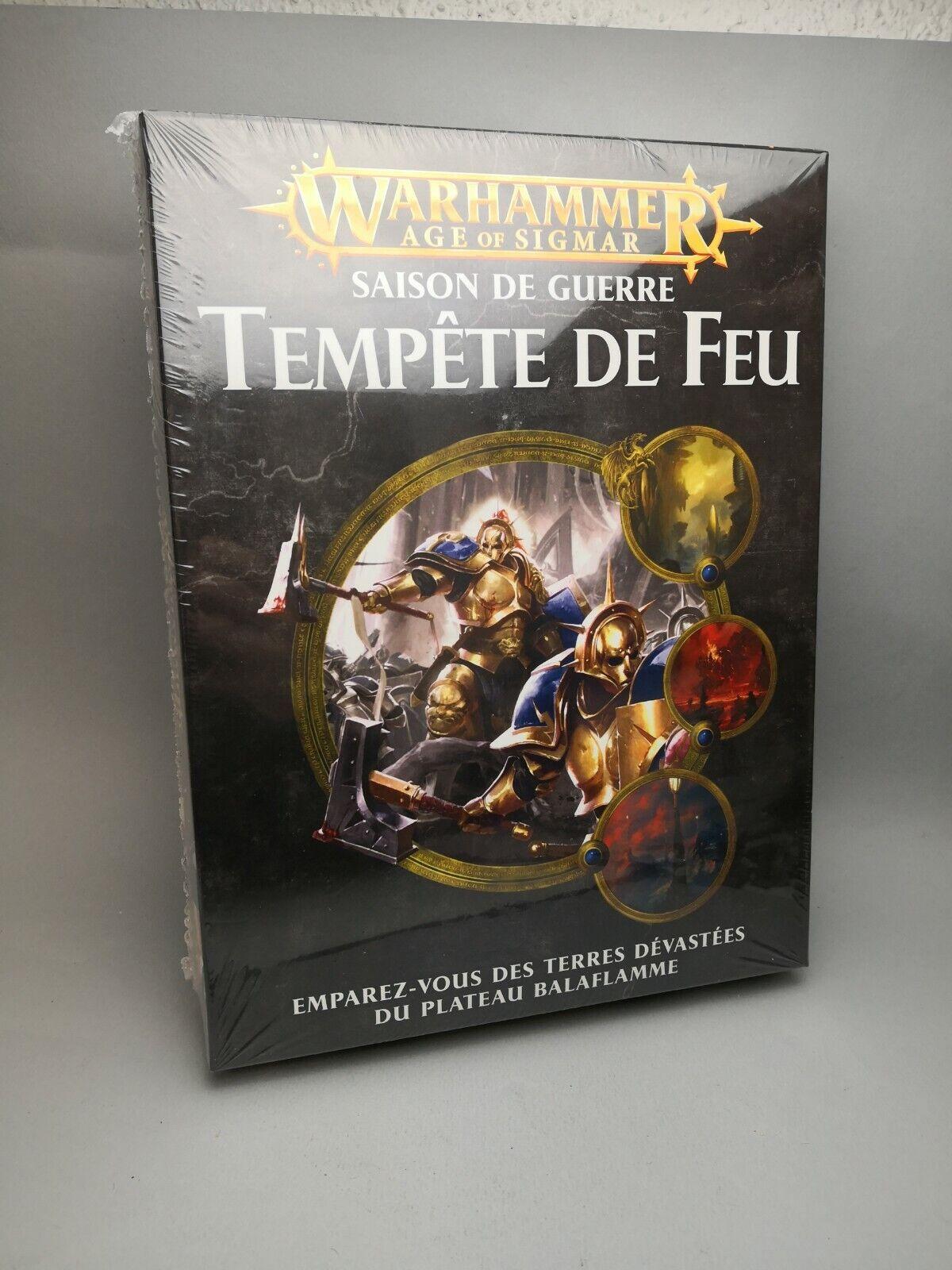 Jeu Tempête de Feu Warhammer Age of Sigmar FR AOS Juegos Workshop