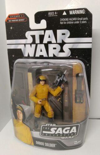 NABOO SOLDIER Star Wars Saga jaune Saga 050