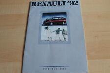 139330) Renault R 19 16V Phase I - Alpine A610 Turbo Prospekt 02/1992