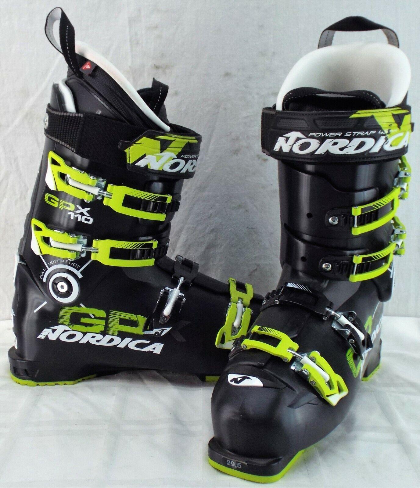 Nordica GPX 110, botas de esquí para hombres, talla 29,5.