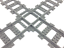 Lego city treno incrocio 4519 x set 7938 7939 7936 60051 60052