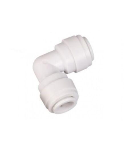 "2 x connecteur angle Embrayage 1//4/"" Osmose Inverse tuyau installation Filtre à eau"