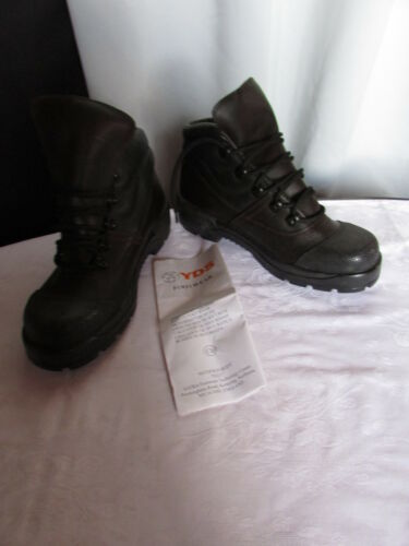 Yds 41 Marron Et Chaussures Noir Sécurité De Cuir vYzwxqSE0