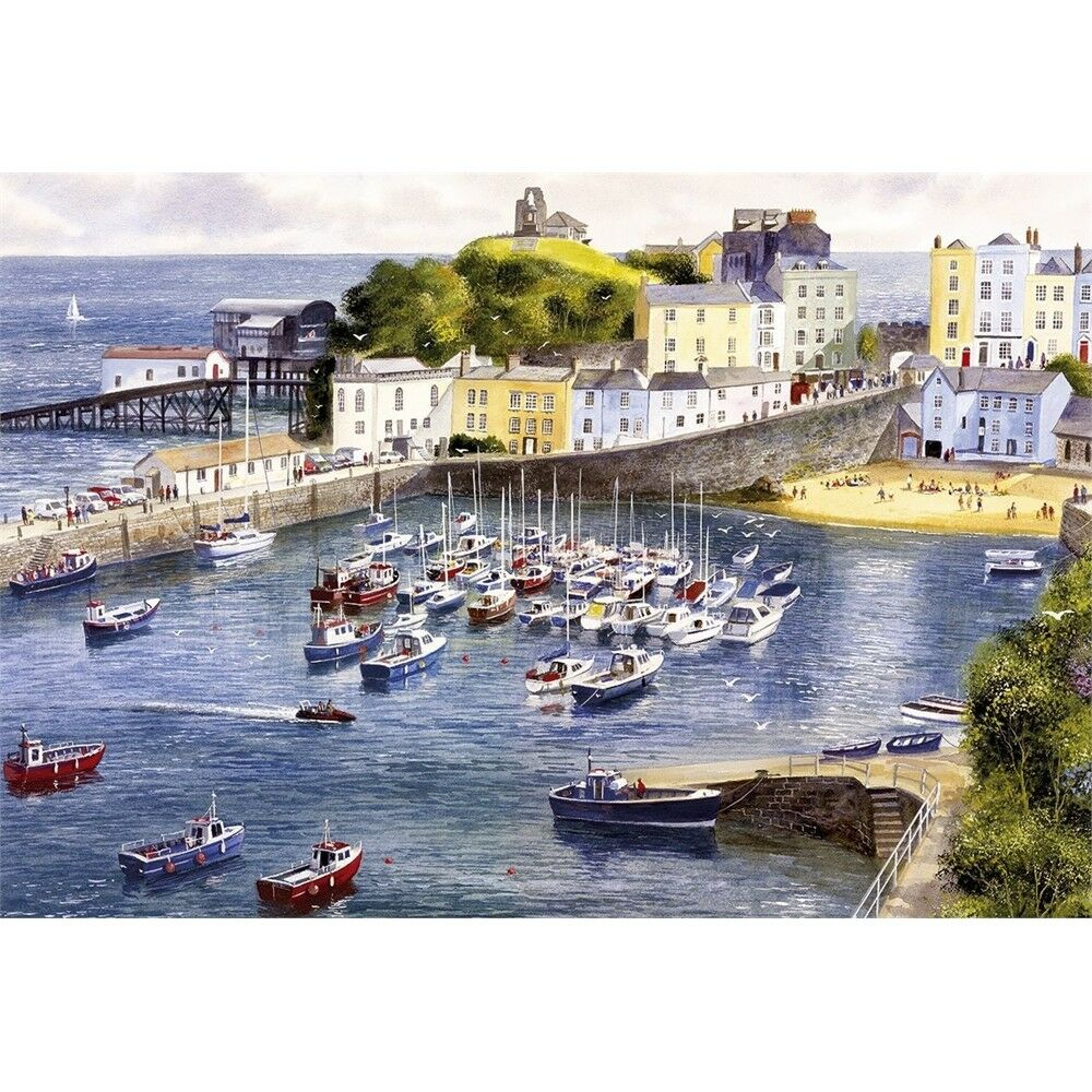 Gibsons Tenby 500 Piece Puzzle