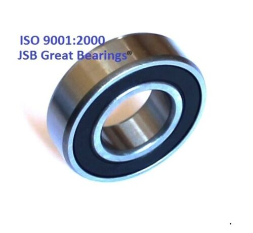 6200-2RS two side rubber seals bearing 6200-rs ball bearings 6200 rs Qty.10