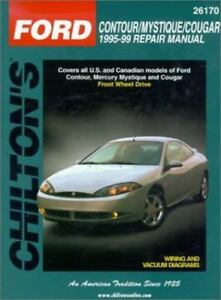 1995 1999 ford contour mystique cougar repair manual rh ebay com Ford Mondeo 1999 1999 ford contour sport owners manual