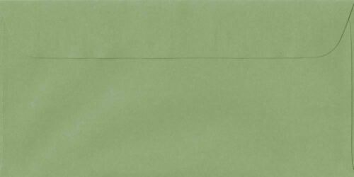 Wedgwood Verde 114 Mm x 224 mm Cáscara//sello 100gsm DL Papel Sobres de Color
