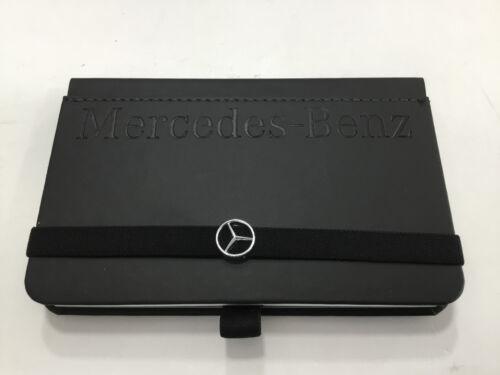 Mercedes-Benz Lanybook kleines Business Notizbuch schwarz Stern Logo B66953636