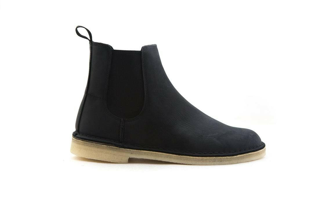 139.99 Clarks Men Desert Peak Boot black leather 26138268