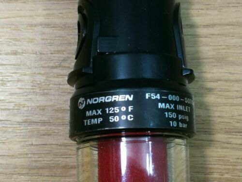Norgren Olympian Plug In Air Pneumatic Filter Unit F54-000-S0T0 Automatic Drain
