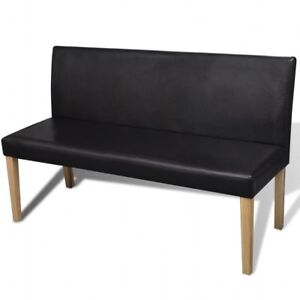 Vidaxl Dark Brown Wooden Bench Seat