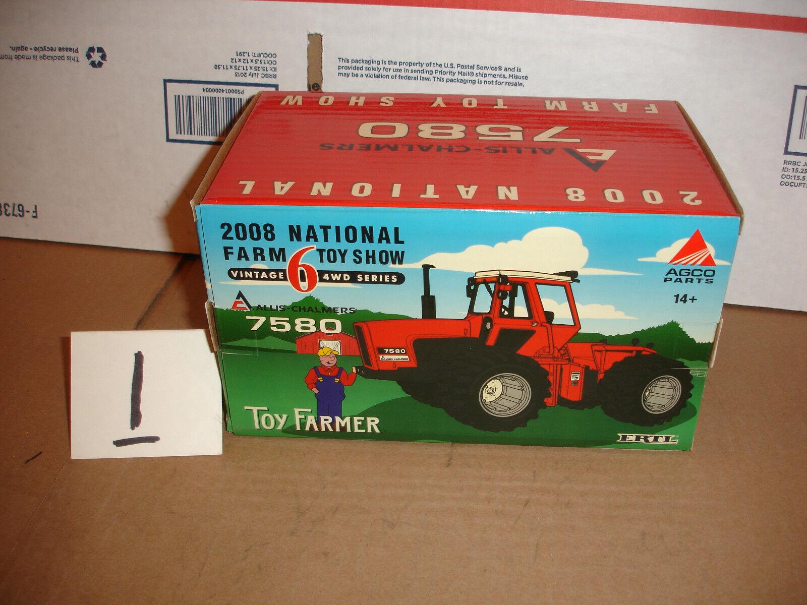1 32 allis chalmer 7580 toy farmer tractor