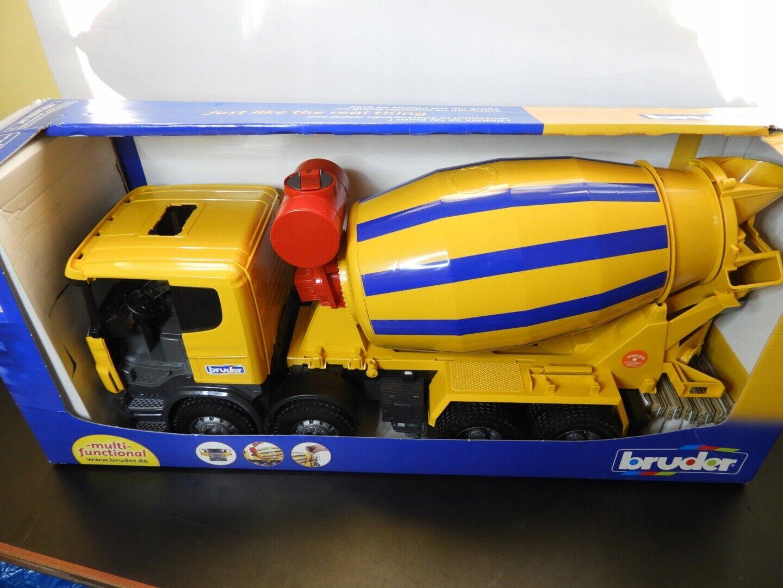 BRUDER    SCANIA CONCRETE MIXER U03554 90c900