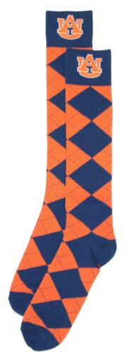 Auburn Tigers Argyle Dress Socks