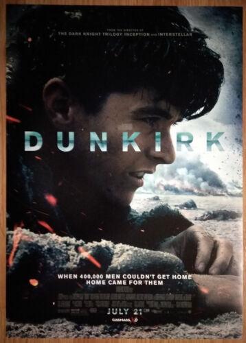 Movie Poster Promo Dunkirk Christopher Nolan WW2