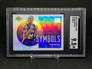 "2018-19 Status Kobe Bryant ""Symbols"" Refractor SGC 9.5 Mint, LA Lakers"