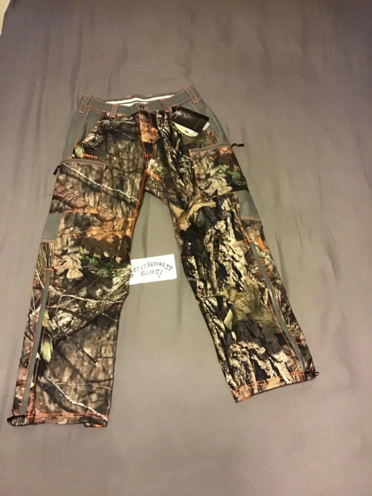 (SZ M) Nomad Hunting Pants (Integrator Pants)  (Woodsy Camo) (Design 5)  more affordable