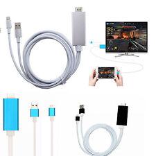 Dock HDMI HDTV-TV-Kabel-Adapter 1080p für iPhone 7 5S 6 6S 6Plus 6S PLUS SE Ipad