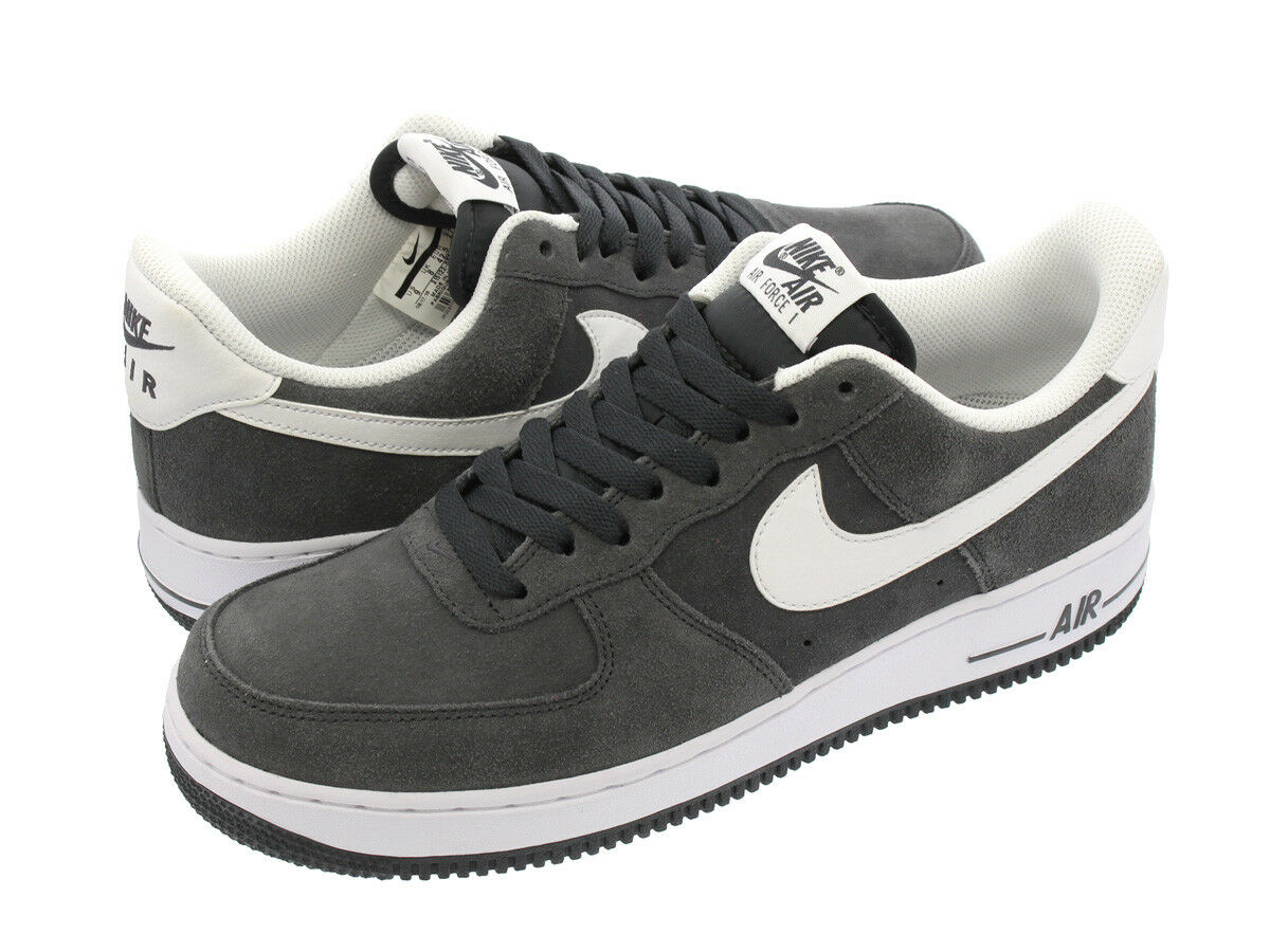 NIKE NIKE NIKE Mens Air Force 1 Low 07 Anthracite White 315122-067 Size 11.5 US Rare New a23bd0