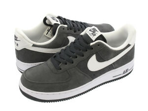 sports shoes e7cd7 5c8c4 Image is loading NIKE-Mens-Air-Force-1-Low-07-Anthracite-