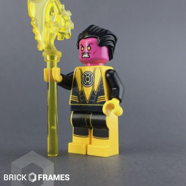 NEW Lego Super Heroes SINESTRO w// Power Staff Minifig Mini Fig Figure Minifigure