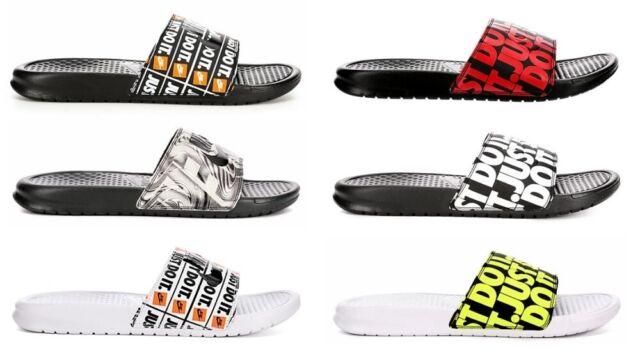 Nike Benassi Just Do It Print Slide