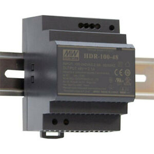 Meanwell-HDR-100-24-Ultra-Slim-DIN-Rail-Power-Supply