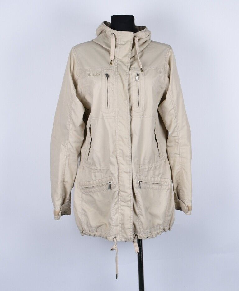 Berganos of Norway 2405 Tonsberg Hooded Women Jacket Coat Size L