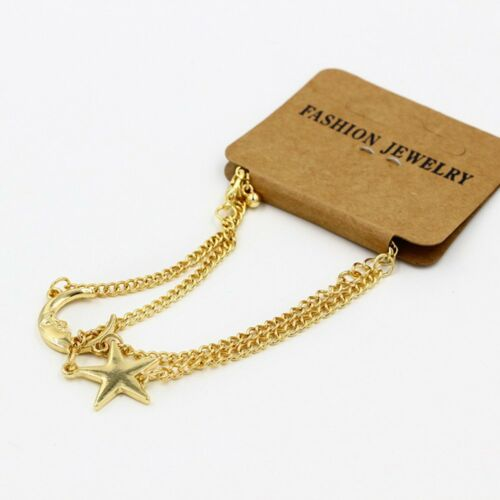 Nice Friendship Gift Chain Moon Star Jewelry Anklet Bracelet Charm
