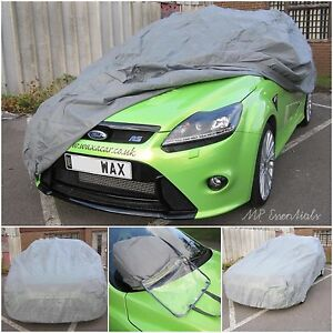 MP Breathable & Water Resistant Outdoor Indoor Full Car Cover to fit Audi A3 - M