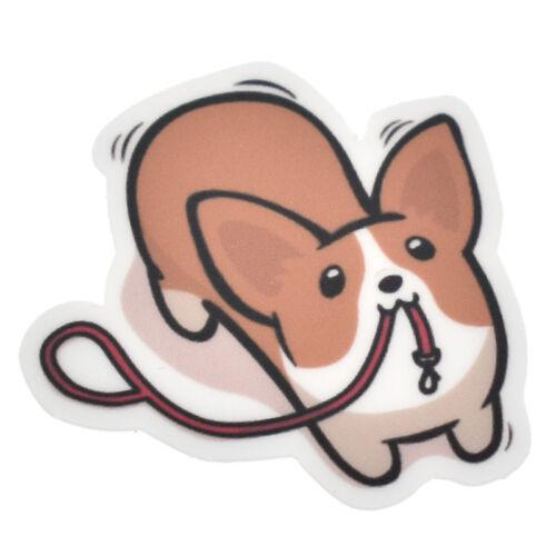 1 Sheet Dog Kawaii Scrapbooking Stickers Mixed Cute Corgi Set Decor Scrapbook