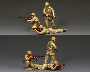 Équipe d'incendie du roi et du pays Folgore (ensemble de 3 hommes) - Forces italiennes If42 If042