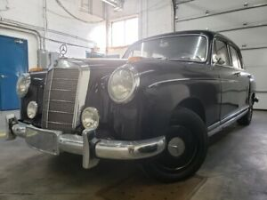 1957 Mercedes-Benz Collector 220 S