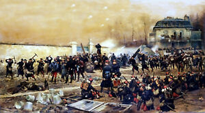 The-Defense-of-Champigny-Painting-by-Edouard-Detaille-Art-Reproduction