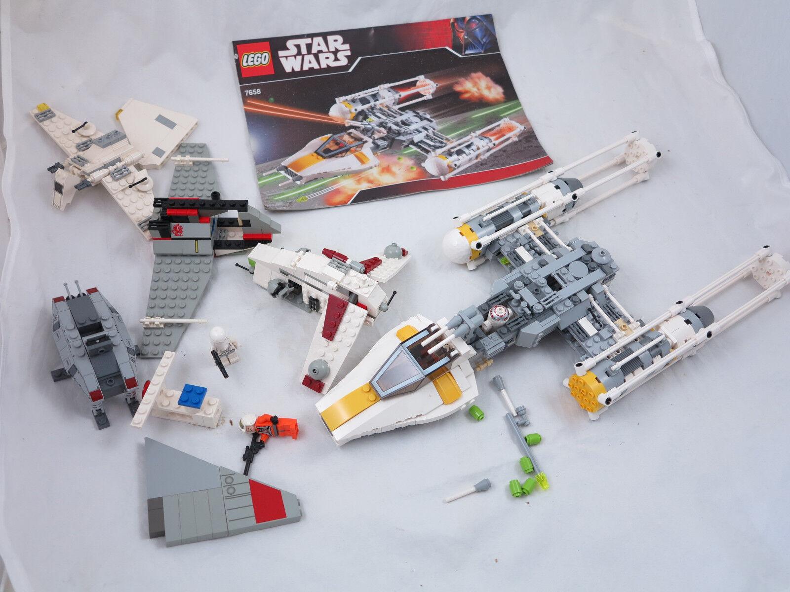 LEGO estrella guerras 7658  4477  X-Wing stellari  la raccolta + OBA ( 103)  gli ultimi modelli