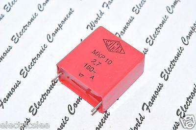 WIMA MKP4 2.2uF 2,2µF 2pcs 250V 5/% pitch:27.5mm Capacitor