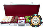 New 500 The Mint 13.5g Clay Poker Chips Set Black Aluminum Case - Pick Chips!
