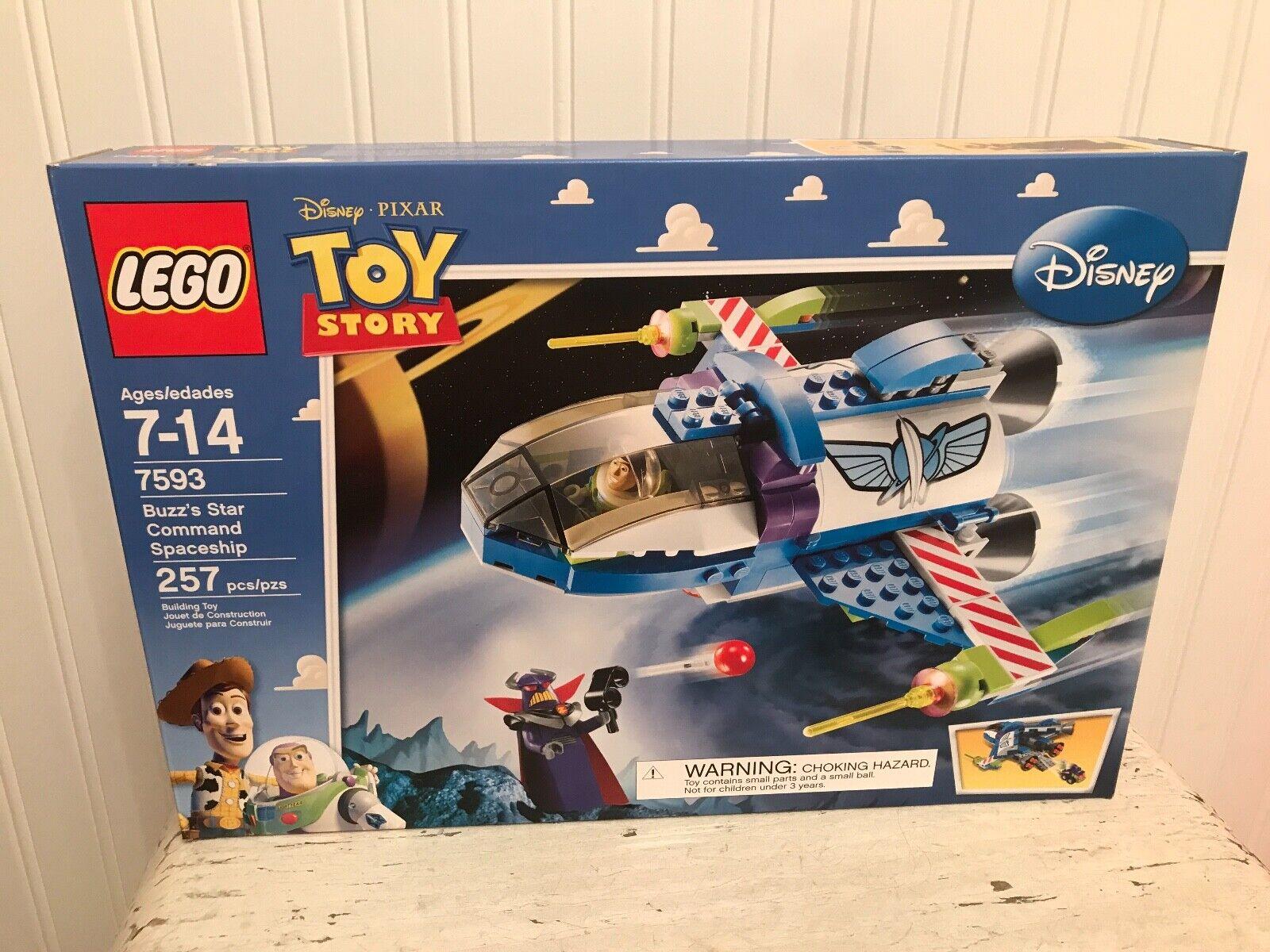 in vendita Nuovo LEGO 7593 Pixar giocattolo giocattolo giocattolo storia Buzz's Estrella Comuomod spazioship 257 Pc  outlet online