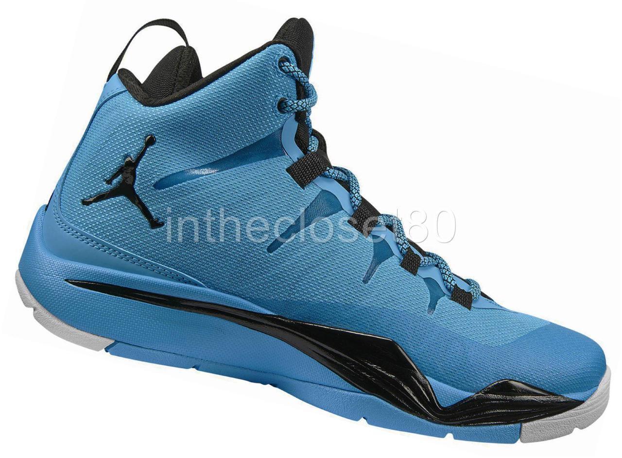 Zapatos de mujer baratos zapatos de mujer Nike Jordan Superfly 2 BG GS Oscuro Polvo Azul Junior Niños Niñas Zapatillas para mujer