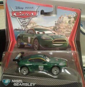 RARE New Unopened Disney Pixar Cars 2 #20 NIGEL GEARSLEY