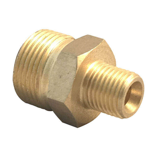 Karcher Kranzle M22 Male 1 4 Inch Male Brass Pressure Washer Adapter Connector For Sale Online