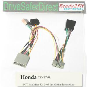 SOT-2841-01 ISO Adaptor,T-Harness for Parrot CK3100 ,CK3000/Honda CR-V 07-09