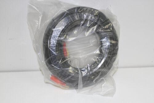 1Rollx100 feet  HEAVY DUTY PREMADE SIAMESE CABLE FOR CCTV CAMERA Black color