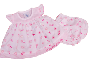 neuf-avec-etiquette-Petit-bebe-reborn-premature-fille-ete-joli-robe-a-fleurs-SET