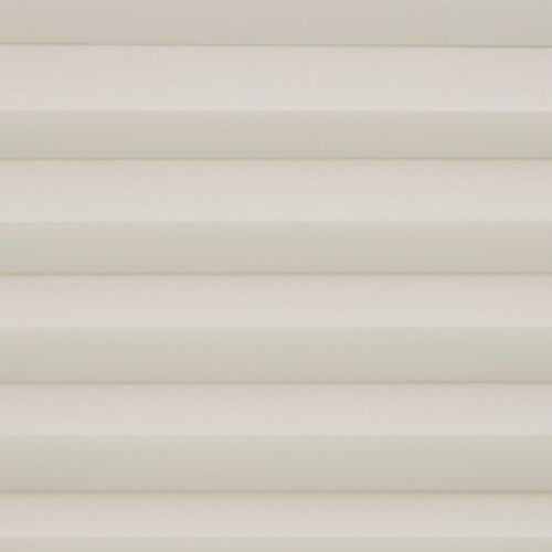 Klöckner Slimfix Plissee Sonnenschutz lichtdurchlässigcremeSchraubmontage